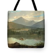 Western Landscape Tote Bag by John Mix Stanley