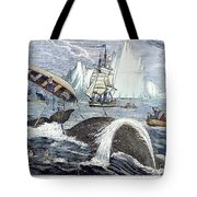 Whaling, 1833 Tote Bag by Granger