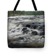 Wheelbarrow Falls Tote Bag by Larry Ricker