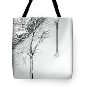 When Nature Quiets The City Tote Bag by Dana DiPasquale