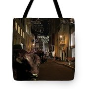 When The Lights Go Down In The City Tote Bag by Wingsdomain Art and Photography