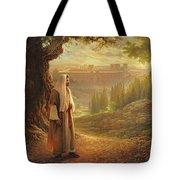 Wherever He Leads Me Tote Bag by Greg Olsen