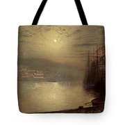 Whitby Tote Bag by John Atkinson Grimshaw
