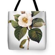 White Camellia Tote Bag by Granger