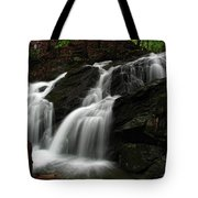 White Mountains Waterfall Tote Bag by Juergen Roth