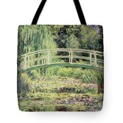 White Nenuphars Tote Bag by Claude Monet