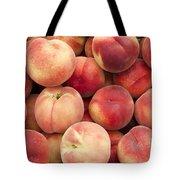 White Peaches Tote Bag by John Trax