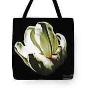 White Tulip Tote Bag by Sarah Loft