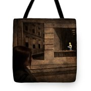 Why Is She Looking At Me Tote Bag by Loriental Photography
