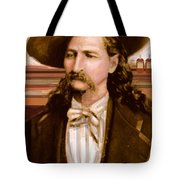 Wild Bill Hickok Tote Bag by Larry Lamb