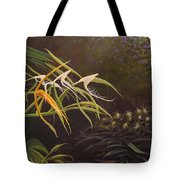 Wild Orchids Tote Bag by Hunter Jay