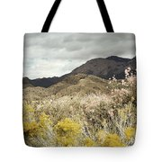 Wildflower Mountain Tote Bag by Andrea Hazel Ihlefeld