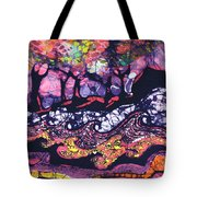 Wind And Waves Tote Bag by Carol  Law Conklin