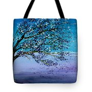 Windblown Tote Bag by Brenda Owen