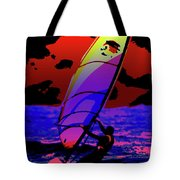 Windsurfer Tote Bag by Brian Roscorla