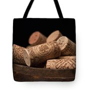 Wine Corks Tote Bag by Tom Mc Nemar