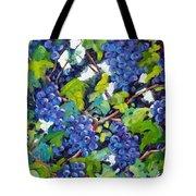 Wine On The Vine Tote Bag by Richard T Pranke
