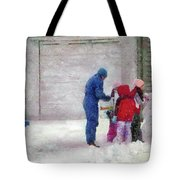 Winter - Re-constructive Surgery Tote Bag by Mike Savad