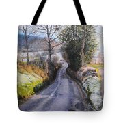 Winter in North Wales Tote Bag by Harry Robertson