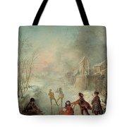 Winter Tote Bag by Jacques de Lajoue