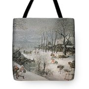 Winter Tote Bag by Lucas van Valckenborch