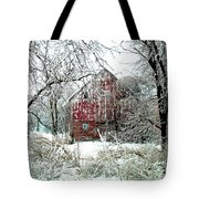 Winter Wonderland Tote Bag by Julie Hamilton