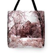 Winter Wonderland Pink Tote Bag by Julie Hamilton