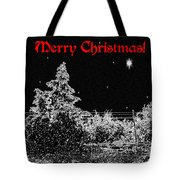 Winter's Night Tote Bag by Methune Hively