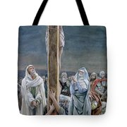 Woman Behold Thy Son Tote Bag by Tissot