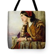 Woman in Love Tote Bag by Henry Nelson O Neil