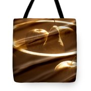 Wooden Bowl With Fruit Tote Bag by Toni Hopper