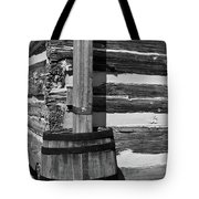 Wooden Water Barrel Tote Bag by Douglas Barnett