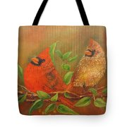 Woodland Royalty Tote Bag by Loretta Luglio