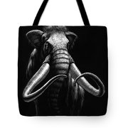 Woolly Mammoth Tote Bag by Stanley Morrison