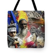 World War Three Tote Bag by Joseph Juvenal