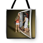 Worlds Apart Tote Bag by Brian Wallace