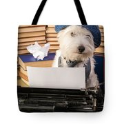 Writer's Block Tote Bag by Edward Fielding