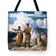 Wyeth: Sacajawea Tote Bag by Granger