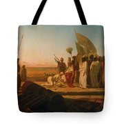 Xerxes at the Hellespont Tote Bag by Jean Adrien Guignet