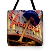 Yankee Clubhouse Tote Bag by Joann Vitali