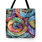 Yarn Tote Bag by Nadi Spencer