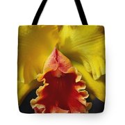 Yellow Cattleya Orchid Tote Bag by Greg Vaughn - Printscapes