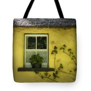 Yellow House County Clare Ireland Tote Bag by Teresa Mucha