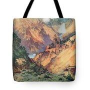 Yellowstone Park Tote Bag by Thomas Moran
