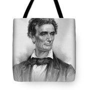 Young Abe Lincoln Tote Bag by War Is Hell Store