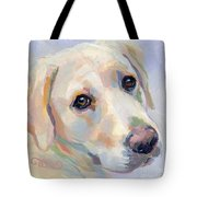 Young Man Tote Bag by Kimberly Santini
