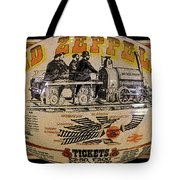 Zeppelin Express Work B Tote Bag by David Lee Thompson