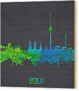 Berlin Germany Wood Print by Aged Pixel