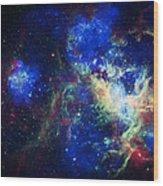Tarantula Nebula 3 Wood Print by The  Vault - Jennifer Rondinelli Reilly