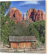 0682 Red Rock Crossing - Sedona Arizona Wood Print by Steve Sturgill